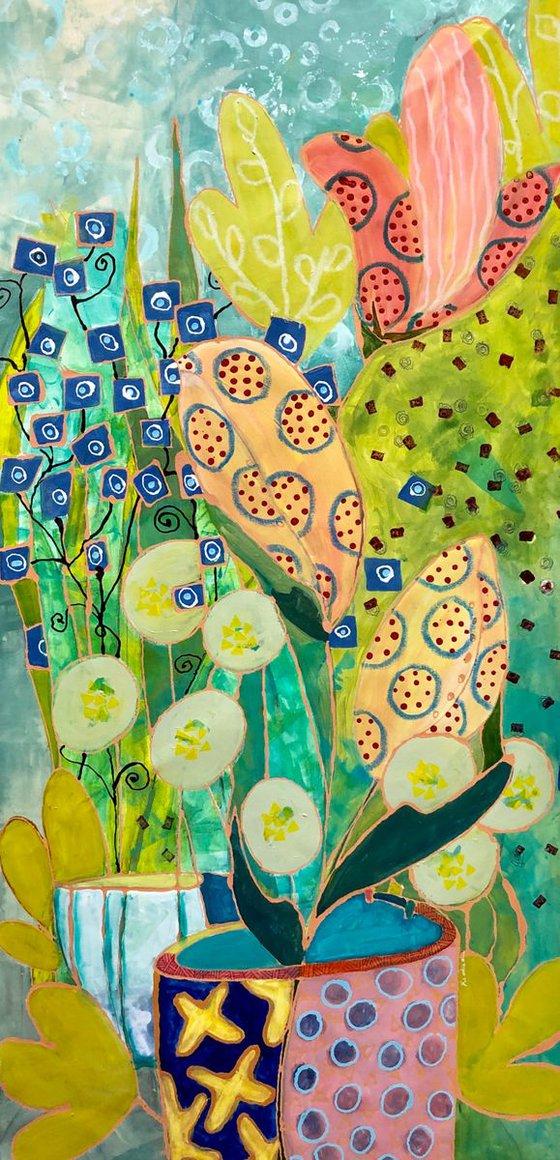 Spring Blooms.   24x48