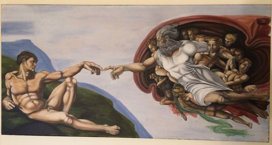 The creation of Man
