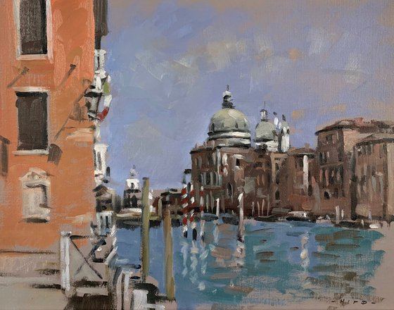 The Grand Canal and Salute