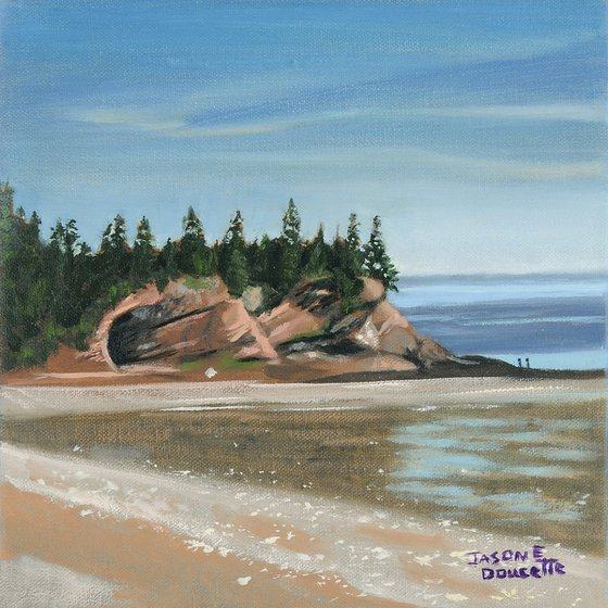 Red Rock of Fundy - Bay Of Fundy, Nova Scotia Canada