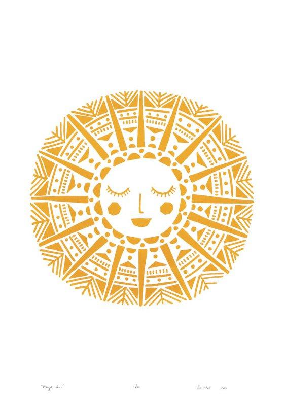 Maya Sun - Unframed - FREE Worldwide Delivery