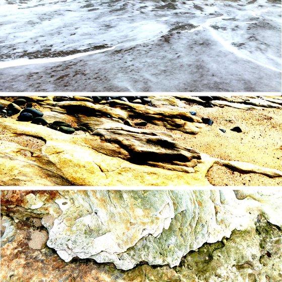Erosion: sea/sand/rock