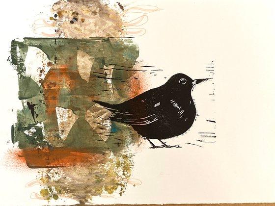 Blackbird on form