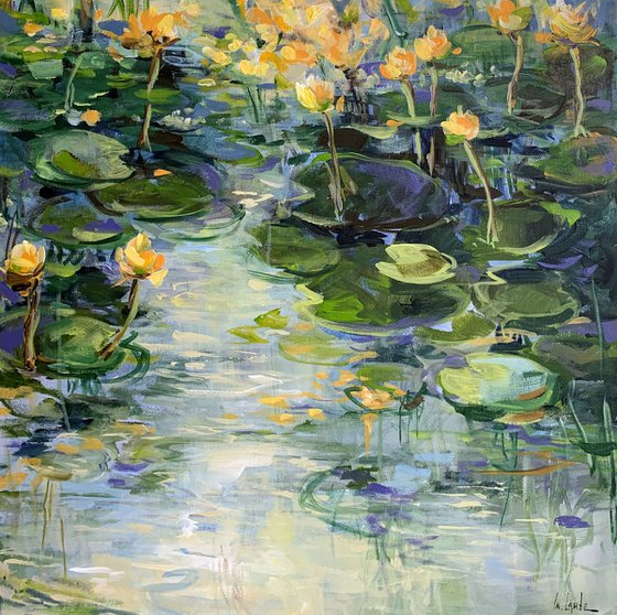 The water lily pond III