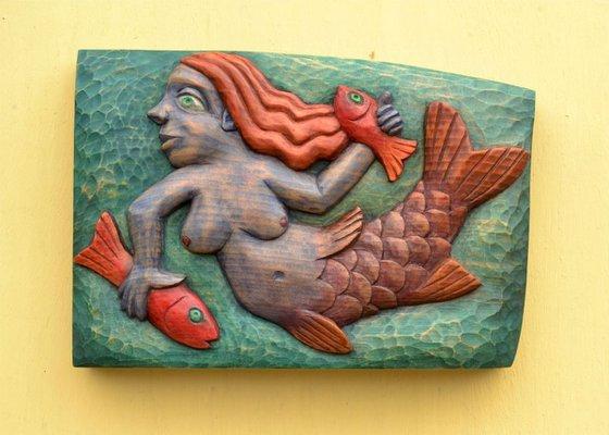 Small Blue Mermaid