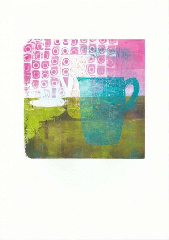 Monoprint - Still life no. 7