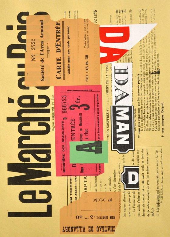 Dada Collage Nr 20 Le Marche