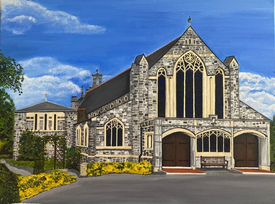 St Marks Church Purley - COMMISSION PIECE