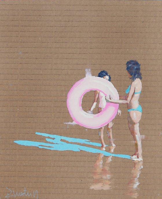 Pink floater (sketch)