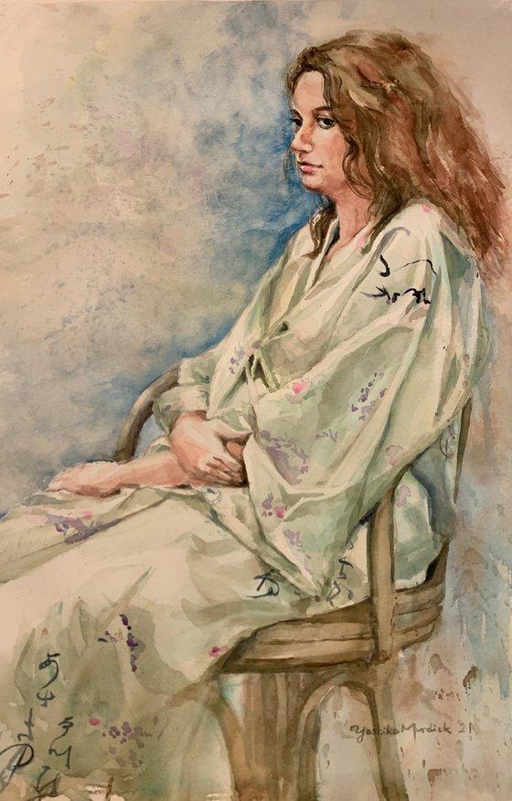 In Kimono Robe