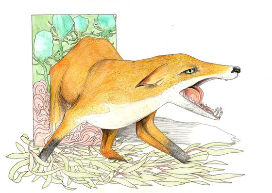 Where monsters roam, foxes appear