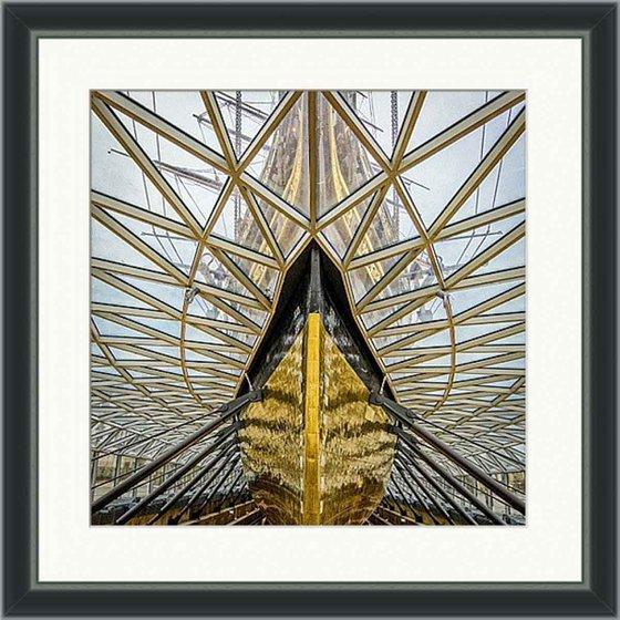 "The Cutty Sark - 20x20"" Limited Edition Framed Print"