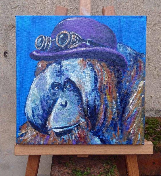 Steampunk Orangutan