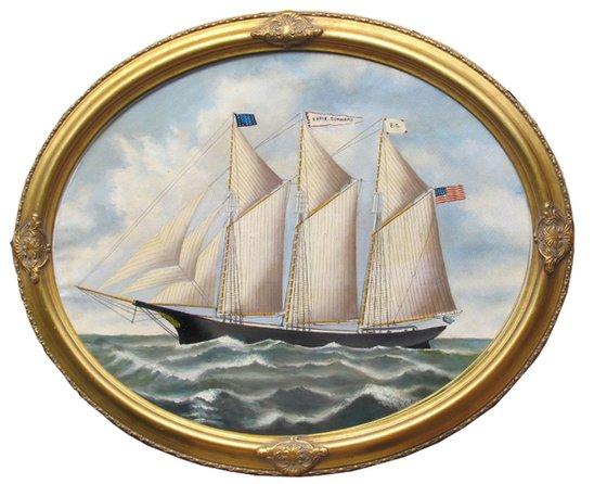 Nineteenth Century Sailing Ship