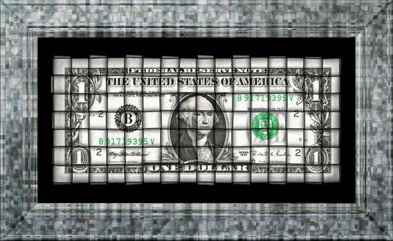 Washington Weave on Acrylic