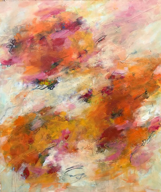 Unconditional Love  - Extra large contemporary painting