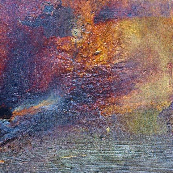 Hebridean Storm, abstract impressionist Scottish seascape