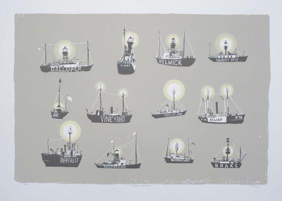Grey Sea Lightships