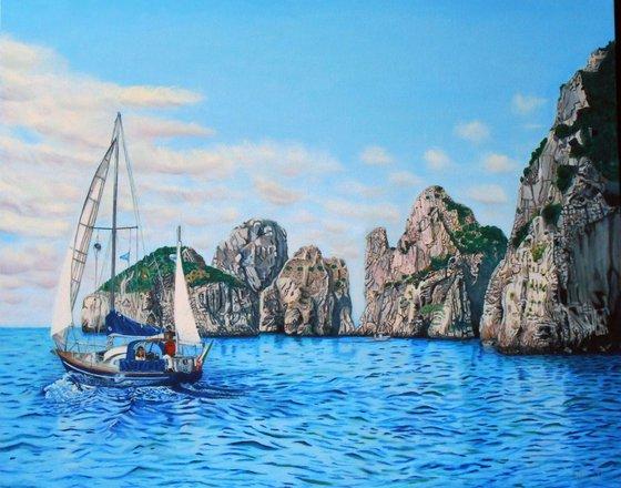 Capri - Faraglioni Rocks