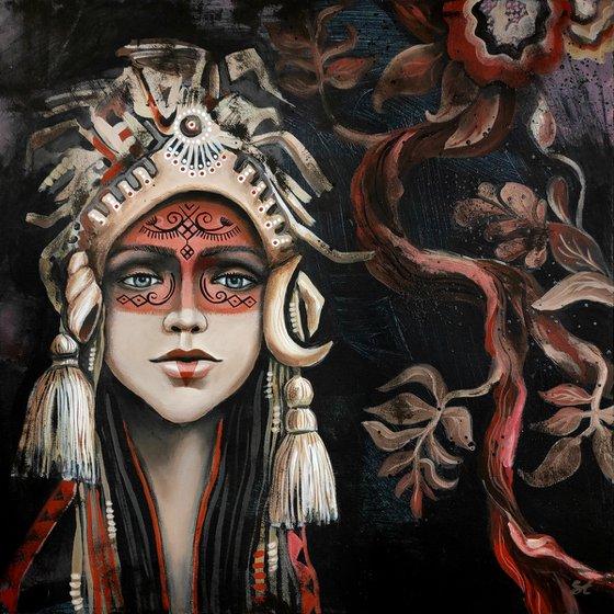 Painting | Acrylic | Shaman