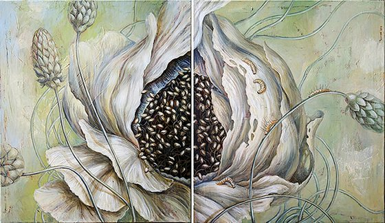 The spring (diptych)