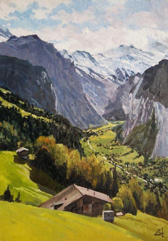 Шале в горах
