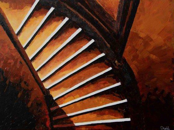 Light on stairs II
