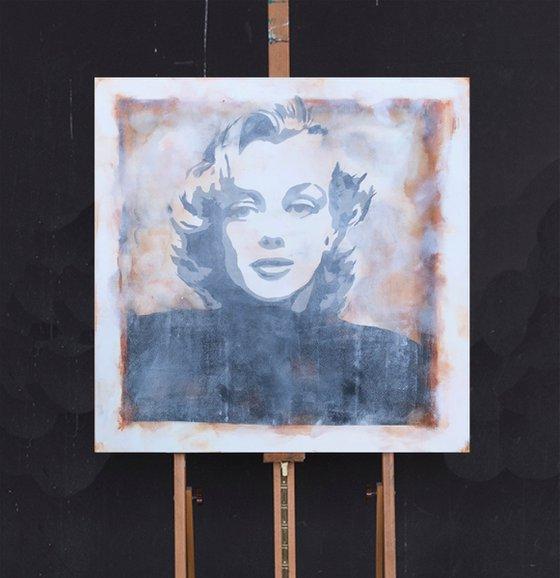 marilyn monroe  (90 x 90 cm) Dee Brown Artworks