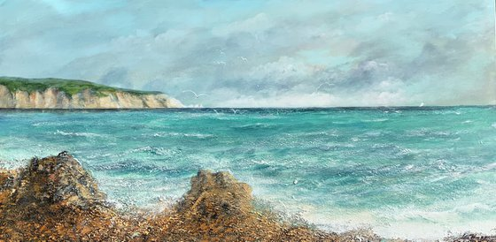 ' FROM ALUM BAY  ISLE OF WIGHT '