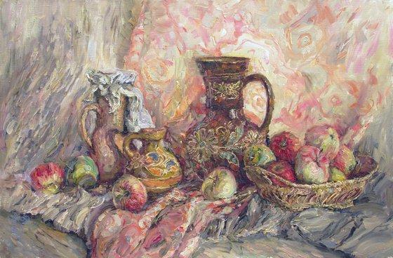 Apples and ceramics