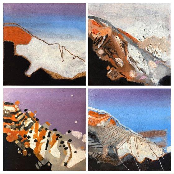 4 landscape variations.