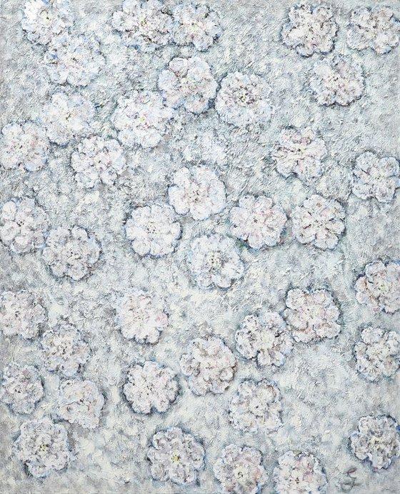 Kings Blue, Cold Grey (130 x 160 cm)