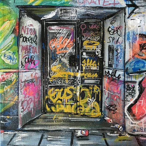 Doorway - Mini Painting