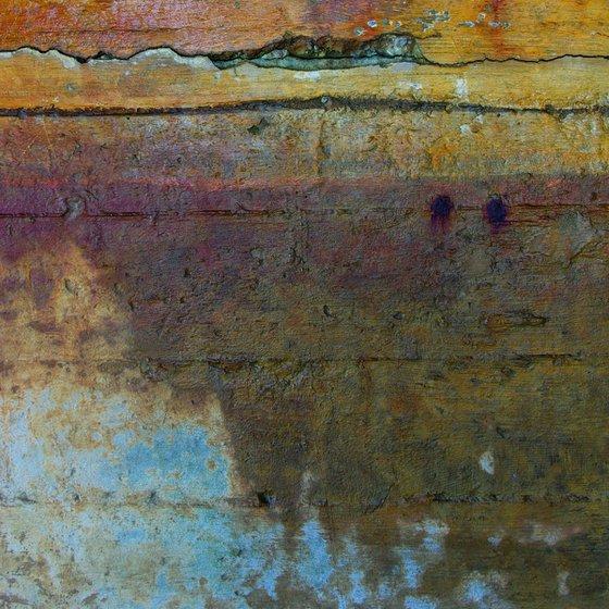 Coigach, abstract impressionist Scottish mountain landscape