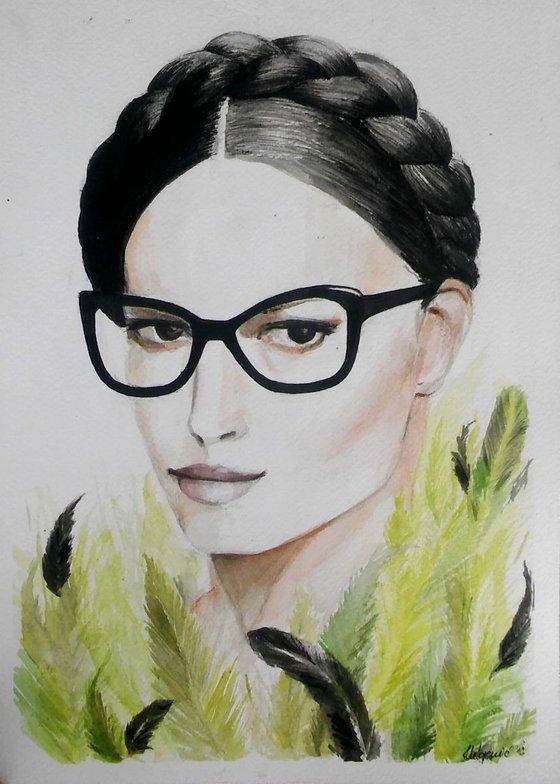 Watercolour Illustration-Camouflage