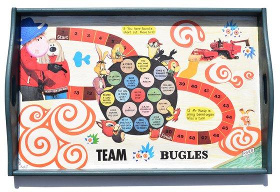 Team Bugles Tray