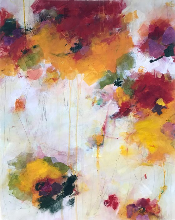 To Summer  - Extra large contemporary painting