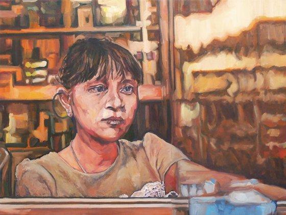 Tragic character : The vietnamese woman pharmacist
