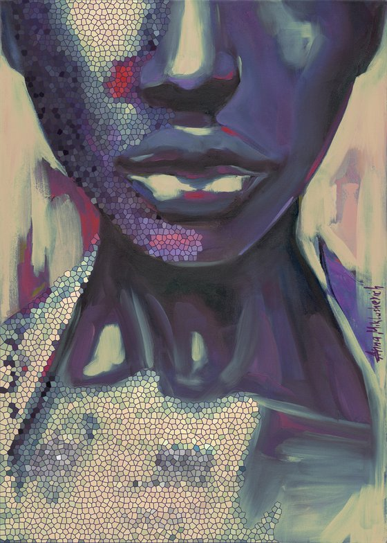 PURPOSEFUL - Limited Edition of 10, Giclee prints on canvas