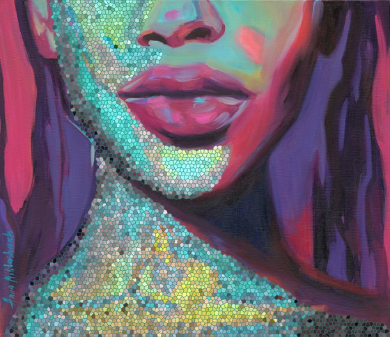 COLOR ME IN - Limited Edition of 10, Giclee prints on canvas