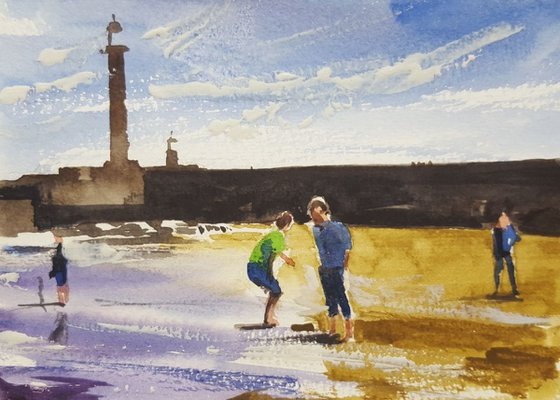 Games on the beach: yet more fun at Whitby