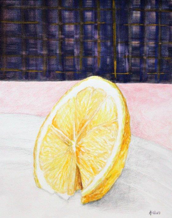Wedge - Lemon Still Life