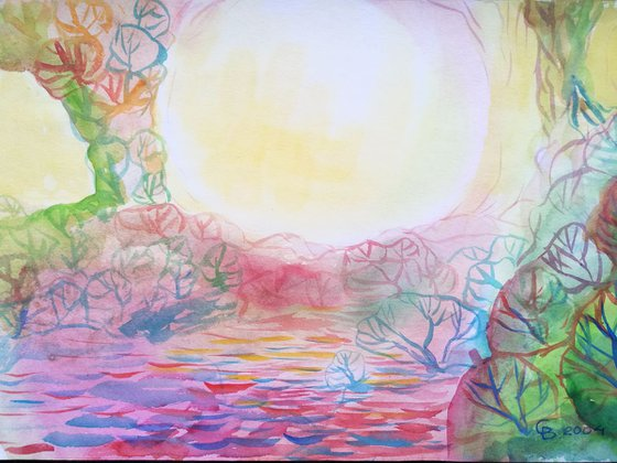 Painting   Watercolor   Summer I