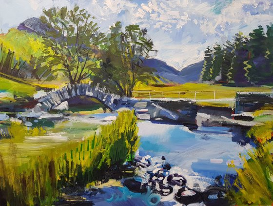 Slater Bridge, Little Langdale in the Lake District