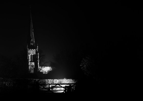 Church, Thaxted, Essex [Framed; also available unframed]