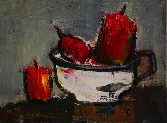 Fruit in a pot