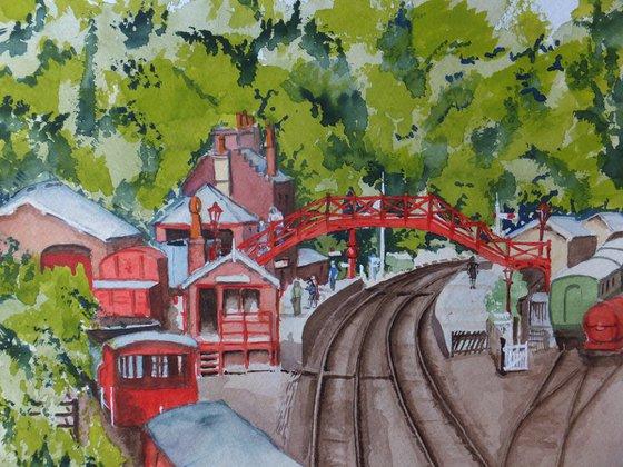 Goathland (or is it Hogsmeade) Railway Station