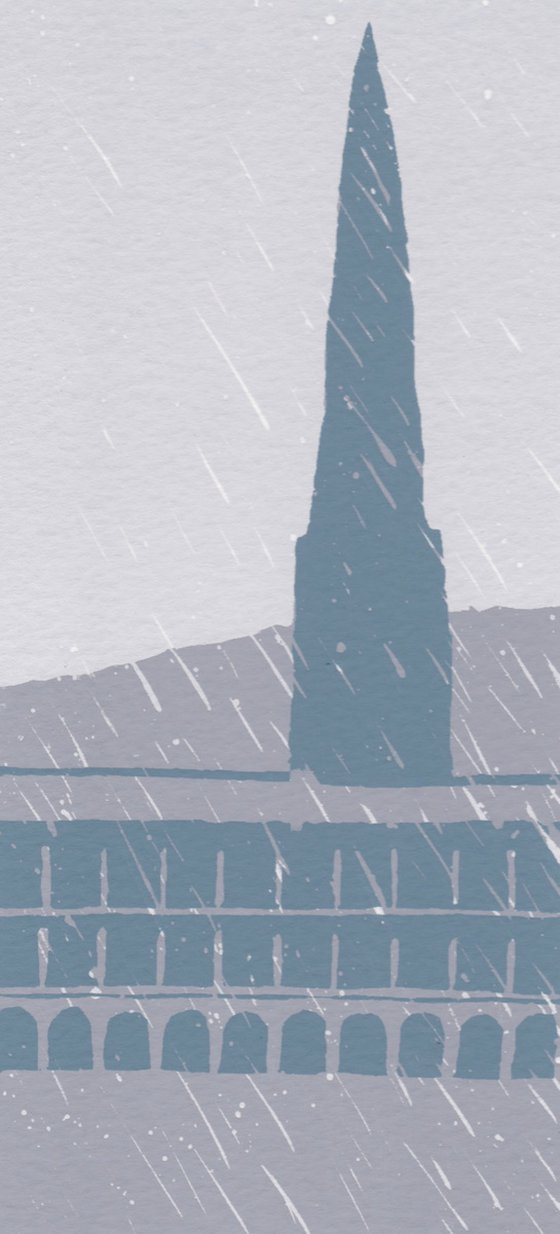 Rain, The Piece Hall