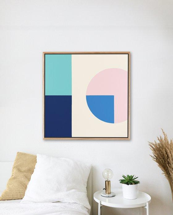 Beyond (Geometric Acrylic Painting)