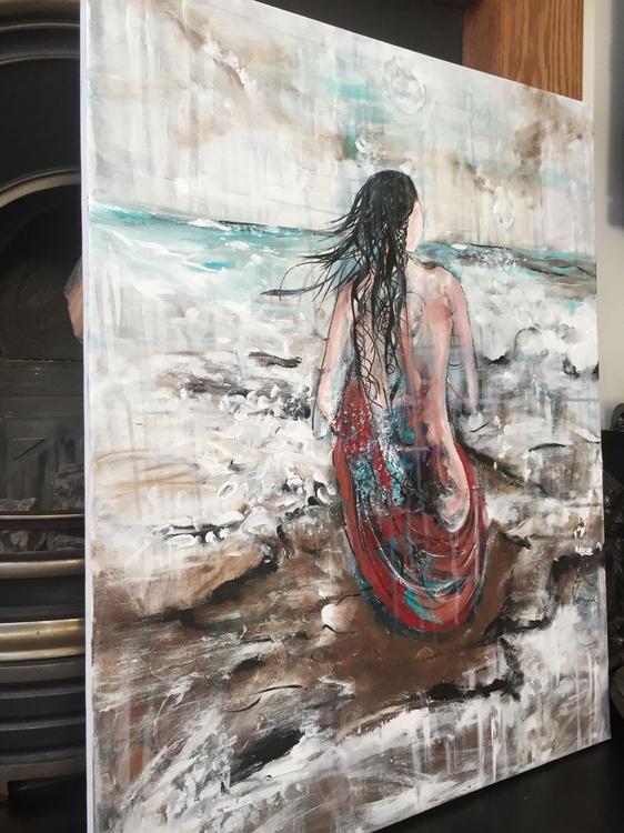 canvas woman nudes, painting prints flowers Art artwork gift portraits